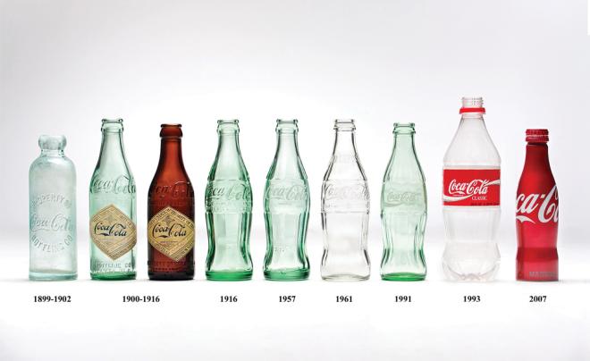 The contour bottle celebrates 100 years